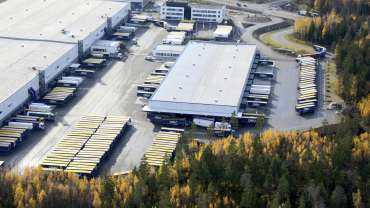 DSV:n Logistics Center – Nedap standardiratkaisuna
